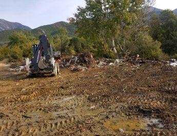 Pastrimi i Territorit në Varrezat Publike Tufinë